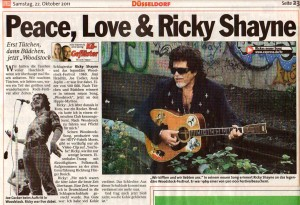 Peace, Love & Ricky Shayne - EXPRESS vom 22.10.11